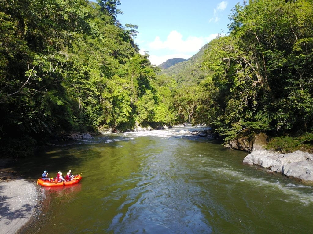 Expedition Colombia Rafting River 2