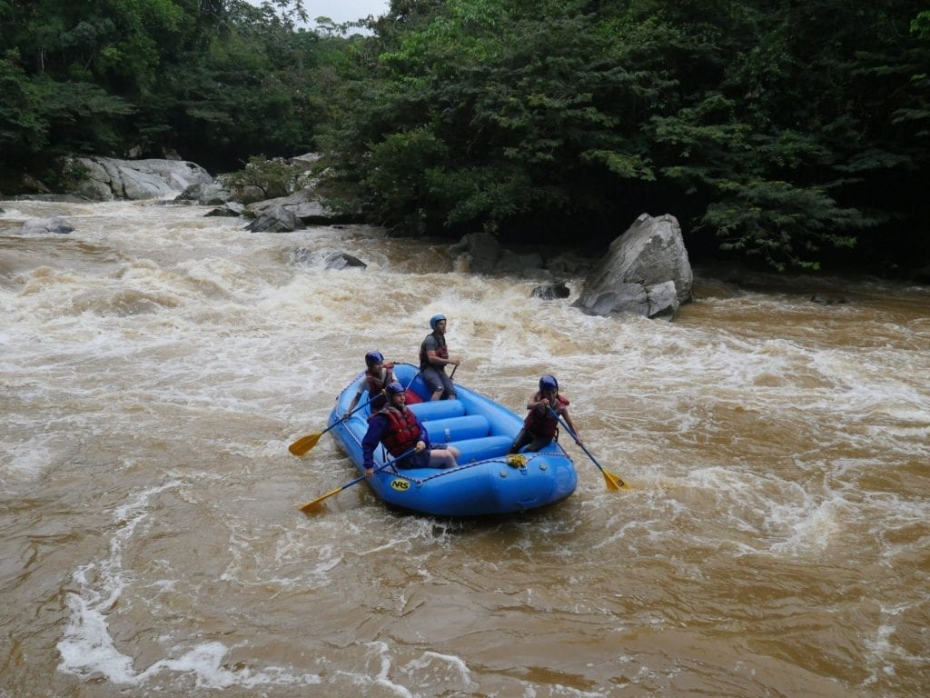 Expedition Colombia Rafting River 5