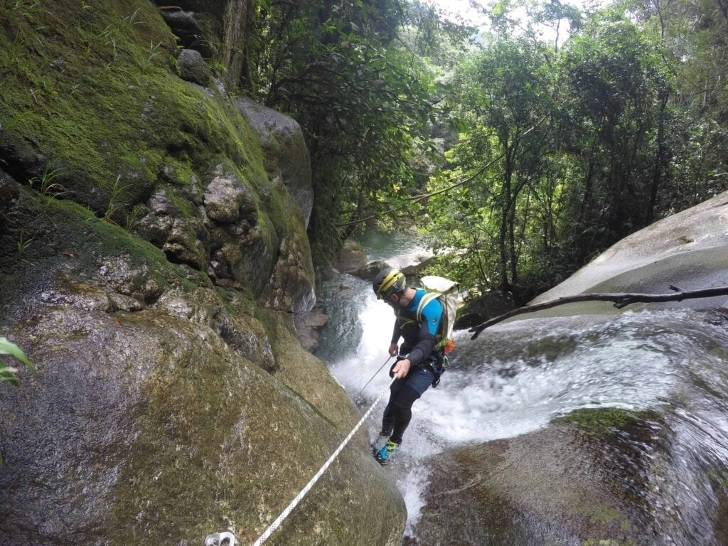 Canyoning and Rappelling San Rafael 2